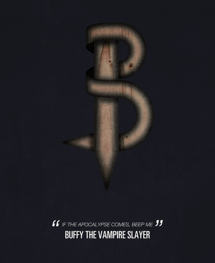 Buffy The Vampire Slayer. Tv Alphabet