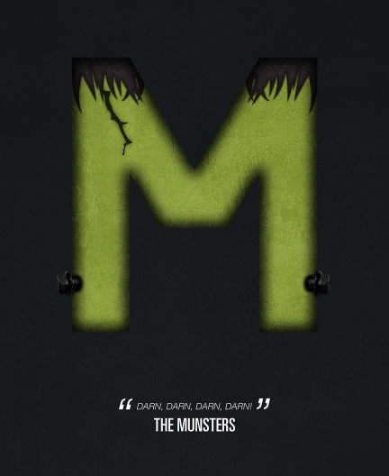 The Munsters. Tv Alphabet