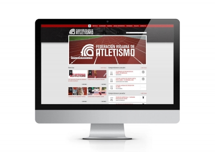 Web Federación Riojana de Atletismo